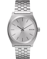Nixon - Time Teller Chrono Watch With White Dial - Lyst