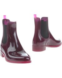 Jeffrey Campbell Ankle Boots purple - Lyst