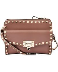 Valentino Rockstud Removable Pouch Crossbody Bag - Lyst