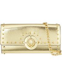 Versus  Leather Clutch Bag - For Women - Lyst
