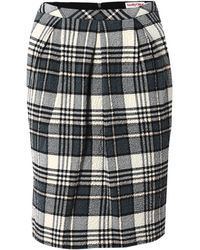 See By Chloé Plaid Skirt - Lyst