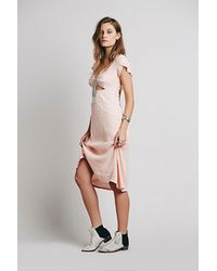 Free People Meet Me There Dress - Lyst