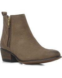 Steve Madden Nyrvana Quilted Ankle Boots - Lyst