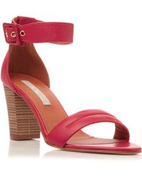 Pied A Terre Fragrant 2 Part Block Heel Sandals - Lyst