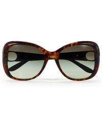 Ralph Lauren Oversized Square Sunglasses - Lyst