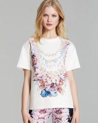 Cynthia Rowley Tee Lei Floral - Lyst