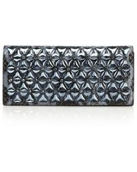 Gucci Broadway Beaded Python Clutch - Lyst