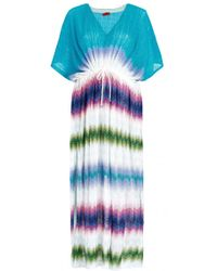 Missoni Mare Geometric Beach Maxi Dress - Lyst