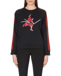 Marc By Marc Jacobs Peyton French Terry Cotton Sweatshirt - Lyst
