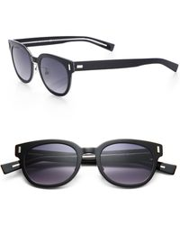Dior Homme Black Tie Acetate Sunglasses black - Lyst