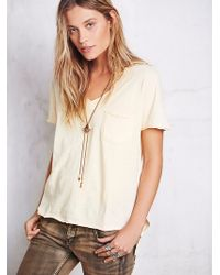 We The Free By Free People 757 Tee - Lyst