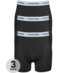 Calvin Klein Mens Core Trunks 3 Pack - Lyst