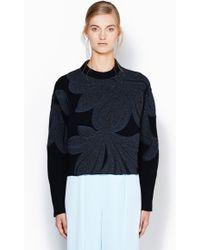 3.1 Phillip Lim Floral Pullover - Lyst
