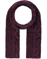 Forever 21 - Marled Cable Knit Scarf - Lyst