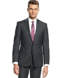 DKNY Grey Jacket Extra Slim Fit - Lyst
