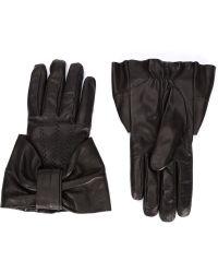 Viktor & Rolf - Bow Detail Gloves - Lyst