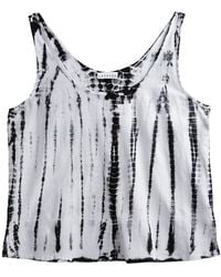 Lacausa Tie Dye Top - Lyst