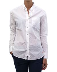 Rail | Tomas Maier White Cotton Shirt | Lyst