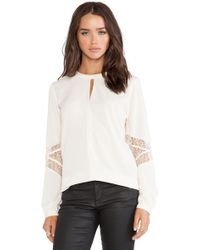 Heartloom White Maud Top - Lyst