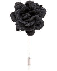 Lanvin - Piquet Flower Pin - Lyst