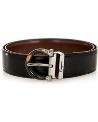 Ferragamo Reversible Leather Belt - Lyst