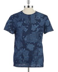 G-star Raw Patterned T Shirt - Lyst