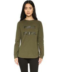 Public School - Ps Tail Sweatshirt - Lyst