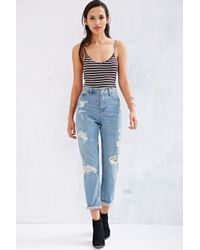 BDG Mom Jean Lauren Destroyed Jean - Lyst