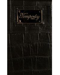 Temperley London - Crocodile Print Leather Ipad Case - Lyst