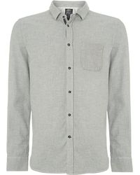 Diesel Long Sleeve Flannel Shirt - Lyst