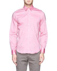 Boglioli Cotton Oxford Shirt - Lyst