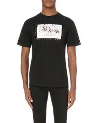 Crooks and Castles - Ski Target Graphic-print Cotton T-shirt - Lyst
