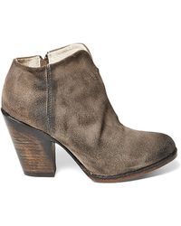 Freebird by Steven | Detroit Suede Booties | Lyst