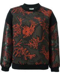 KENZO - 'Monster' Quilted Sweatshirt - Lyst