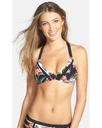 Nanette Lepore Women'S 'Havana Tropical Heartbreaker' Triangle Bikini Top - Lyst