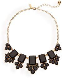 Kate Spade Daylight Jewels Bib Necklace - Lyst