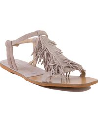 Chinese Laundry - Kristin Cavallari For Tommy Kid Fringe Sandals - Lyst