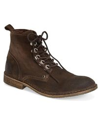 Rogue 'Gruz' Plain Toe Boot brown - Lyst