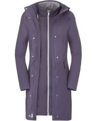The North Face - Suzanne Triclimate Trench Coat - Lyst
