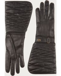 Bally - Quilted Leather Gloves - Lyst