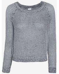 Shae - Marled Knit Crop Sweater - Lyst