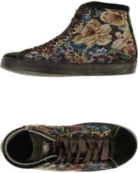 Beverly Hills Polo Club Green Hightops Trainers - Lyst