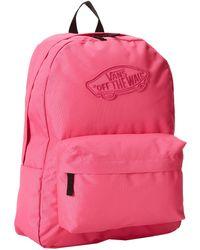 Vans Pink Realm Backpack - Lyst