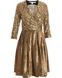 Diane Von Furstenberg Roma Wrap Dress - Lyst