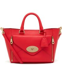 Mulberry Small Willow Tote - Lyst