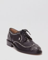 Dolce Vita Lace Up Oxford Flats - Pallas - Lyst