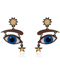 Yazbukey - Fortune Teller Collection Earrings - Lyst