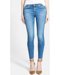 AG Adriano Goldschmied 'The Legging' Ankle Jeans - Lyst