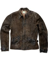 Levi's Vintage Clothing Menlo Leather Jacket - Lyst