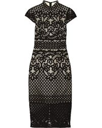 Lover Libra Lace Dress - Lyst